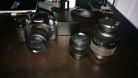 Panasonic GH4 + Lenses