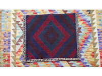Amazing Afghan Tribal Hand Woven Cution Pillow