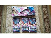 Nerf Rebelle Wingspeed Bow and arrow plus 3 packets of refill arrow 11 arrows in total HOURS OF FUN