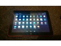 Tablet HP Slate 10 HD Beats Audio with case and charging cable