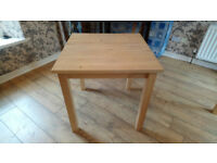 Dining Table Beechwood Colour (Ikea)