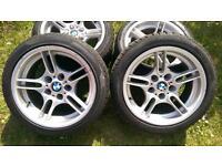 BMW 17' e39 alloys wheels