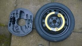 TEMPORARY SPARE WHEEL FOR VW GOLF