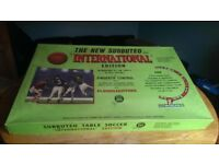 Vintage Subbuteo International Edition Floodlit Table Soccer Game