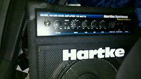 Harke kick back 25 bass combo amp