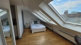 Luxury 1 Bedroom Penthouse with Open-Plan Kitchen In Shoreditch E2