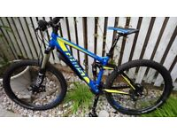 Mountain bike. Mens. Medium. Ghost Cagua, full XT nearly new, unwanted gift was £3000