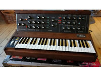 Original Classic 1972 MiniMoog for sale. All in excellent working order - sounds awesome!