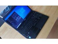 "Fully working 15.6"" Toshiba laptop with Warranty, fast 256GB SSD, Windows 10, Microsoft Office"