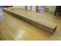 Beautiful oak beam