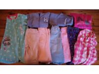 Bundle of girls' clothes