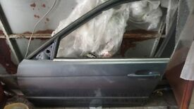 Bmw 330 e46 passenger front door - bare