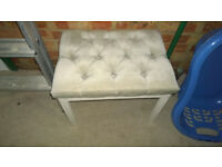 FREE 60s 70s Retro Bedroom Chair / Stool Mid Century Modern