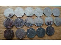 50p and £2 coins for sale offers