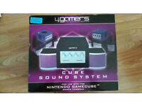 Cube Sound System Stereo Speakers and Active Subwoofer