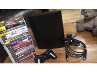 Sony PlayStation 3 PS3 500GB Super Slim, 20+ games