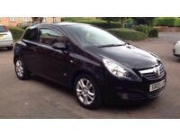 Vauxhall Corsa 1.2 SXI 3 door 2009 MOT till March 2018 in good condition 73K Mileage