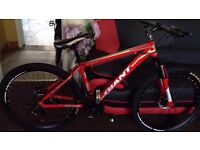 "Red 2016 Giant Atx Mountain bike ""NEW"" boxed 26""1.95 Medium Size Aluminum Alloy"