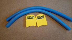 Zoggs Swim Noodle and Kick Board – Two Sets