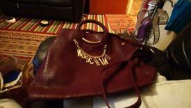 Lovely dark red bag