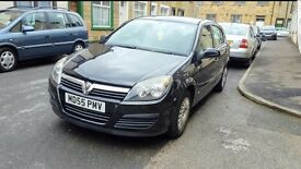 Vauxhall astra 1.6 black petrol