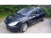 Peugeot 307.1.4litre petrol. One owner low mileage .