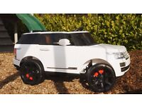 Kids ride on cars - Range Rover style Jeep - Low in stock