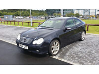 Mercedes-Benz C Class C220 CDI Coupe Automatic Diesel 2 dr Full Service History