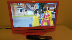 "TV DVD PINK 16"" LCD Freeview Proline"
