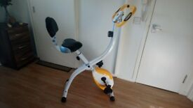 Ultrasport Folding Exercise Bike