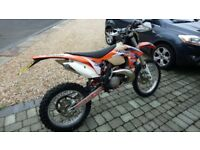 2012 KTM EXC 300 ENDURO BIKE