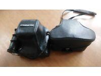 vintage camera's. CHINON CE-4 FUJICA STX-1