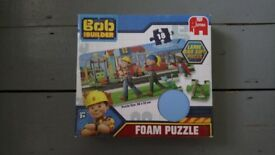 Bob the builder foam puzzle