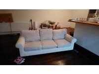 Creme sofa for FREE. 2m long.