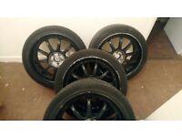 Set of wheels 5 stud... Fits vw audi ect