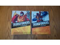 Transformers the Definitive Generation 1 Collection volume 36 and 37 comic books