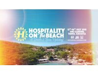 2x Hospitality On The Beach CROATIA Tickets