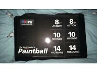 20 paint balling tickets