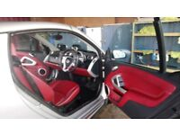 Smart Cabriolet Limited Edition 1 of only 100 Silver with red leather