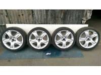 "Mini Cooper S 17"" alloy wheels 4x100"