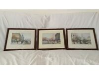 Set of three prints by Eugene G-Laloue