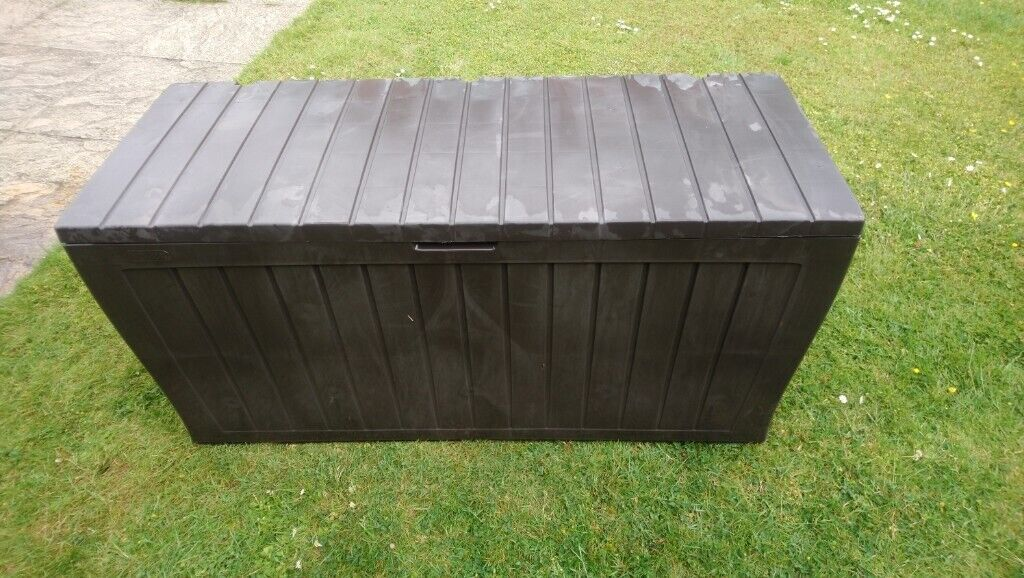 Prime Keter Garden Storage Chest In Abbeymead Gloucestershire Gumtree Pabps2019 Chair Design Images Pabps2019Com