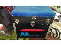 malibu seat box full of floats hooks and bits