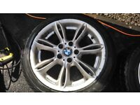 Bmw e85 alloy wheels & winter tyres