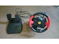 Thrustmaster T150 Ferrari Force Feedback Wheel (PS4/PS3/PC)