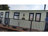3 Bed caravan for hire at Thurston Manor, Dunbar East Lothian