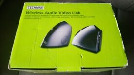 TECHNIKA WIRELESS AUDIO VIDEO LINK