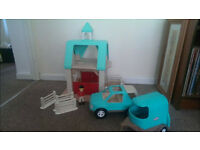 Rare Little Tikes Dollhouse Stable, Collect Penarth.