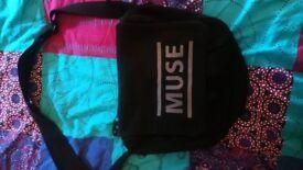 Muse Black Holes and Revolations Tour canvas bag satchel