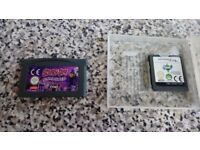 Nintendo ds light game and gameboy advance game (both work in Nintendo)